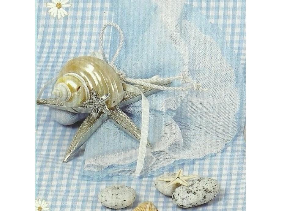 Μπομπονιέρες βάπτισης αστερίας