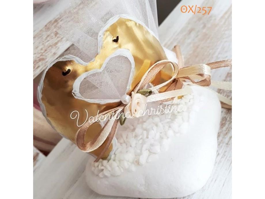 Μοναδικές μπομπονιέρες γάμου μεταλλικά πιγκουινάκια