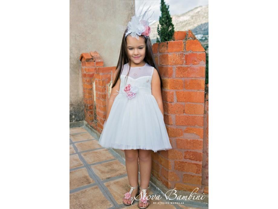Βαπτιστικό ρούχο  για κορίτσι Stova Bambini