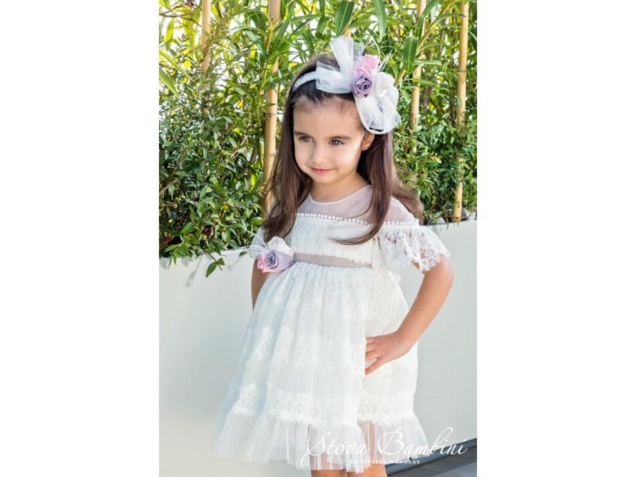 Βαπτιστικό Φόρεμα G05 Stova Bambini SS2020