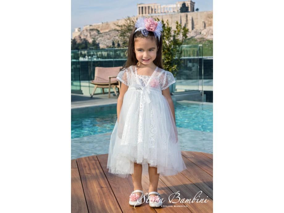 Βαπτιστικό Φόρεμα G08 Stova Bambini SS2020