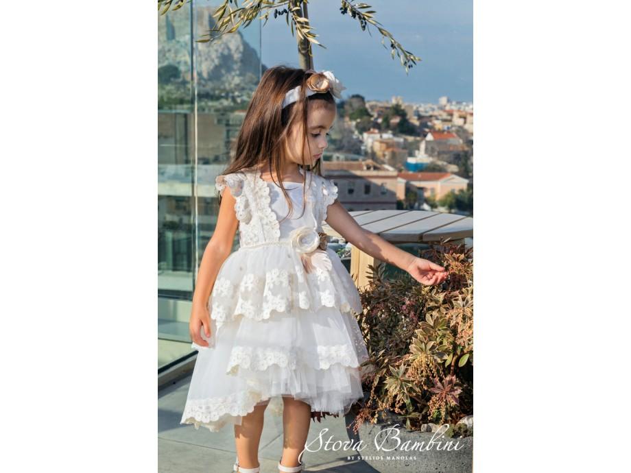 Βαπτιστικό Φόρεμα G10 Stova Bambini SS2020