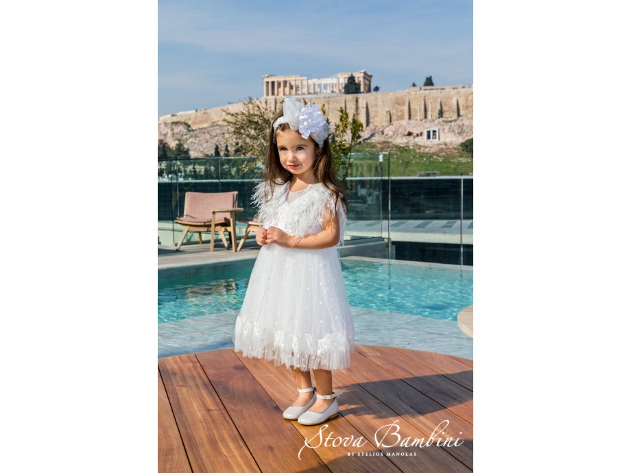 Βαπτιστικό Φόρεμα G14 Stova Bambini SS2020