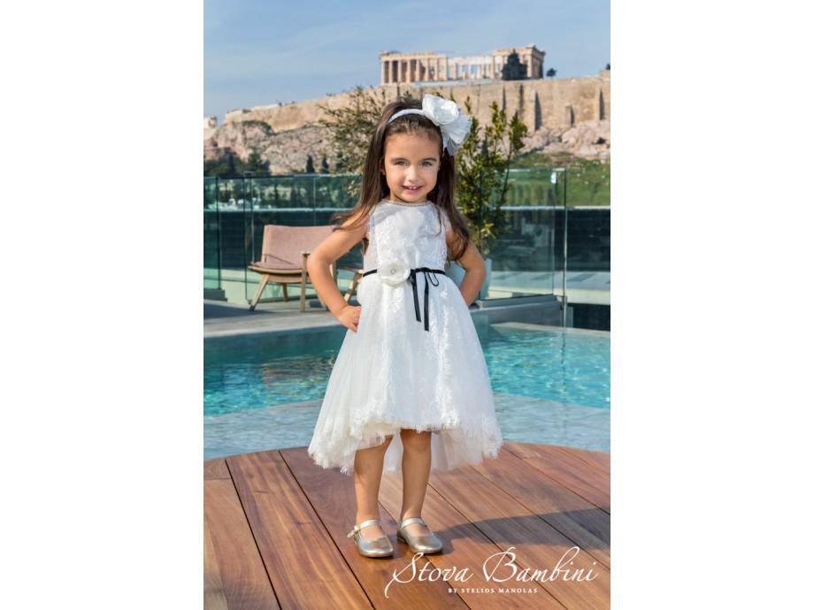 Βαπτιστικό Φόρεμα G20 Stova Bambini SS2020
