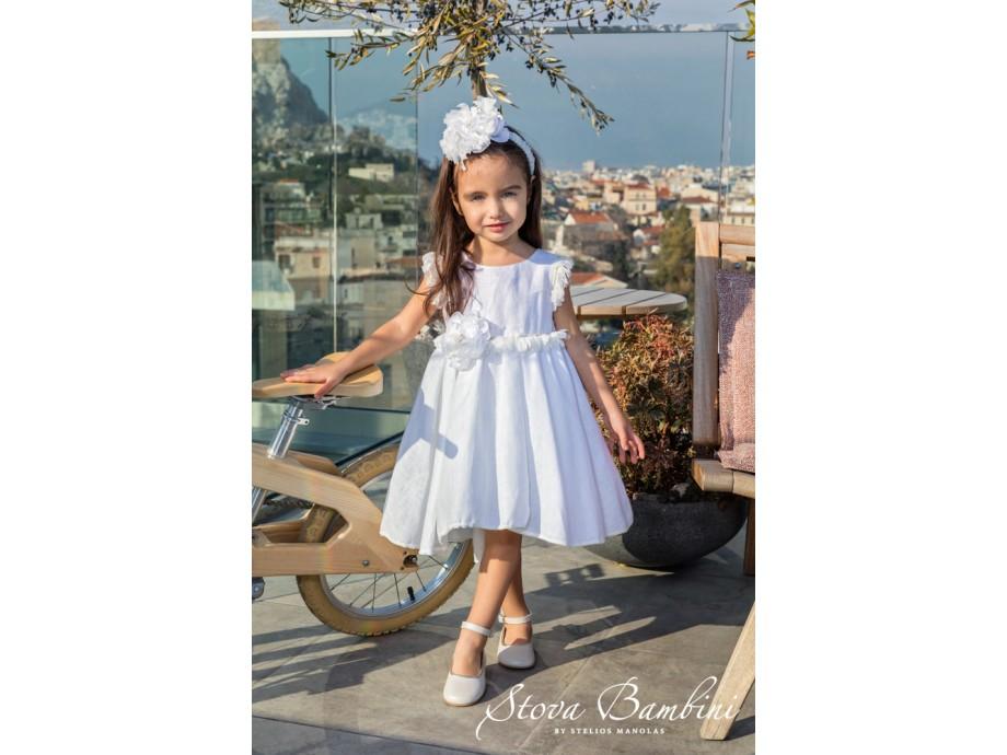 Βαπτιστικό Φόρεμα G22 Stova Bambini SS2020