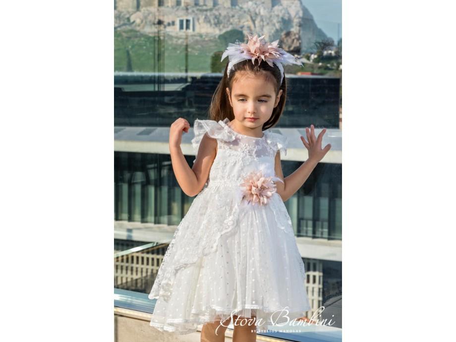 Βαπτιστικό Φόρεμα G24 Stova Bambini SS2020