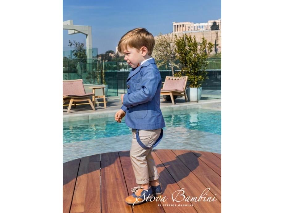 Βαπτιστικό Κοστούμι B2 Stova Bambini SS2020
