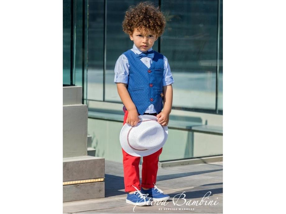 Βαπτιστικό Κοστούμι B5 Stova Bambini SS2020