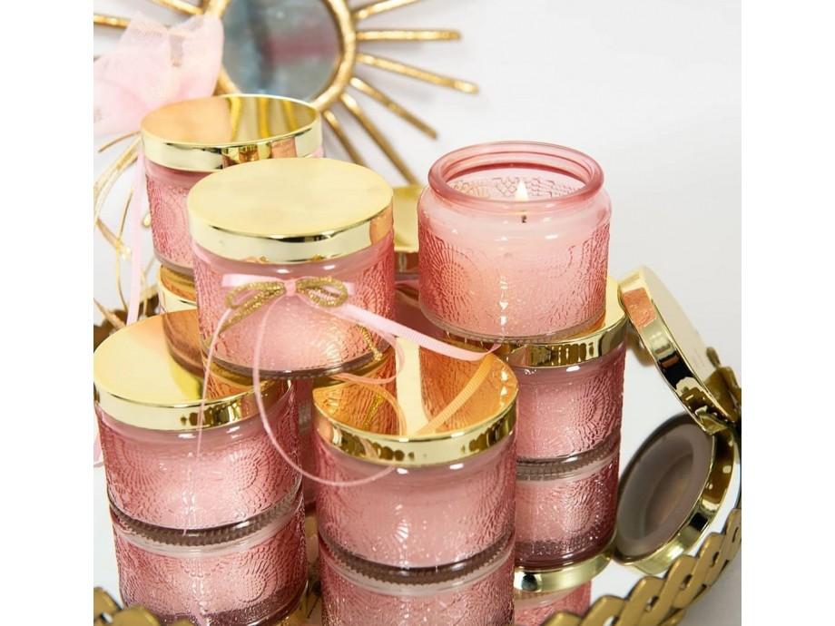 Μπομπονιέρες βάπτισης αρωματικό Κερί Cherry