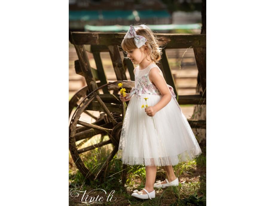Βαπτιστικό φόρεμα 2910 vinteli