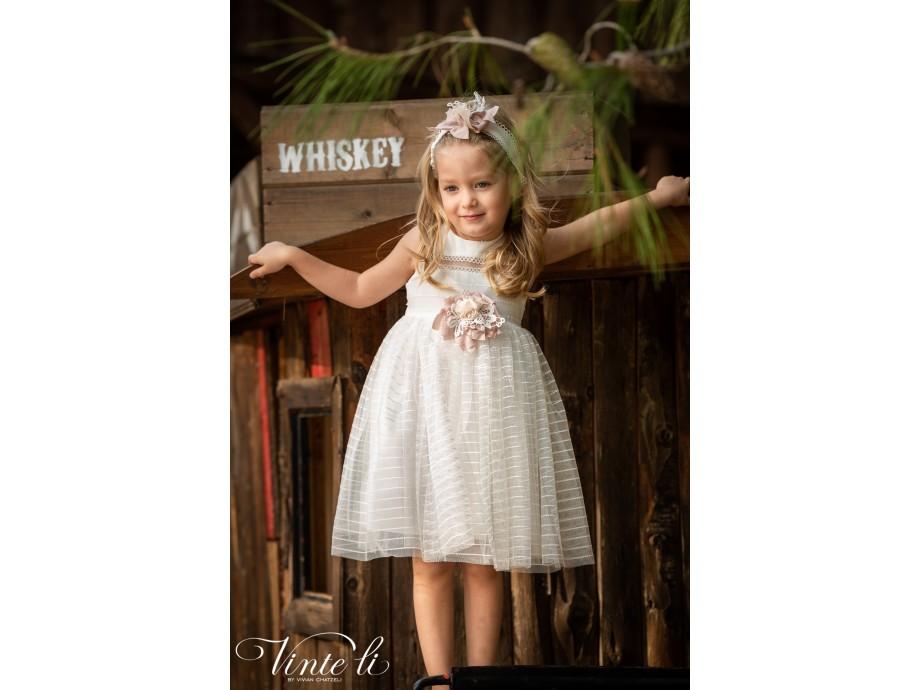 Βαπτιστικό φόρεμα 2912 vinteli