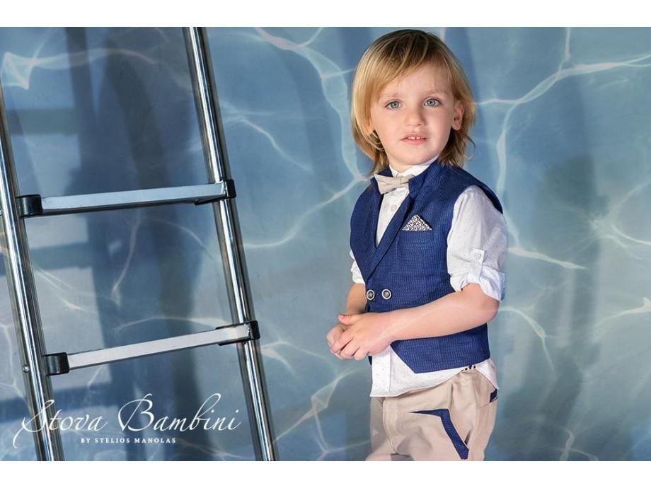 Βαπτιστικό κοστούμι Stova Bambini ss21 Β02