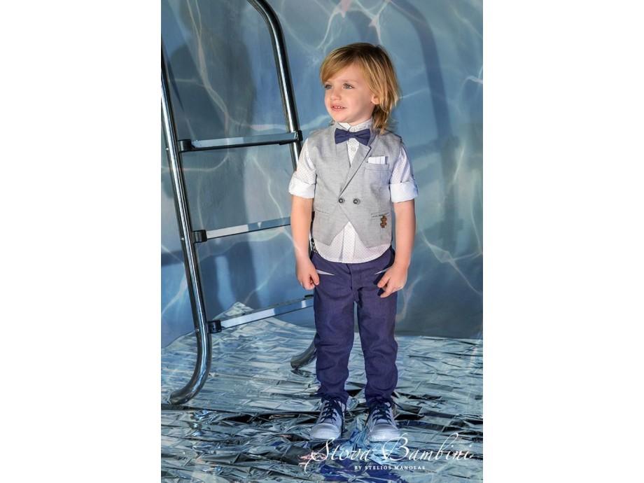 Βαπτιστικό κοστούμι Stova Bambini ss21 β3