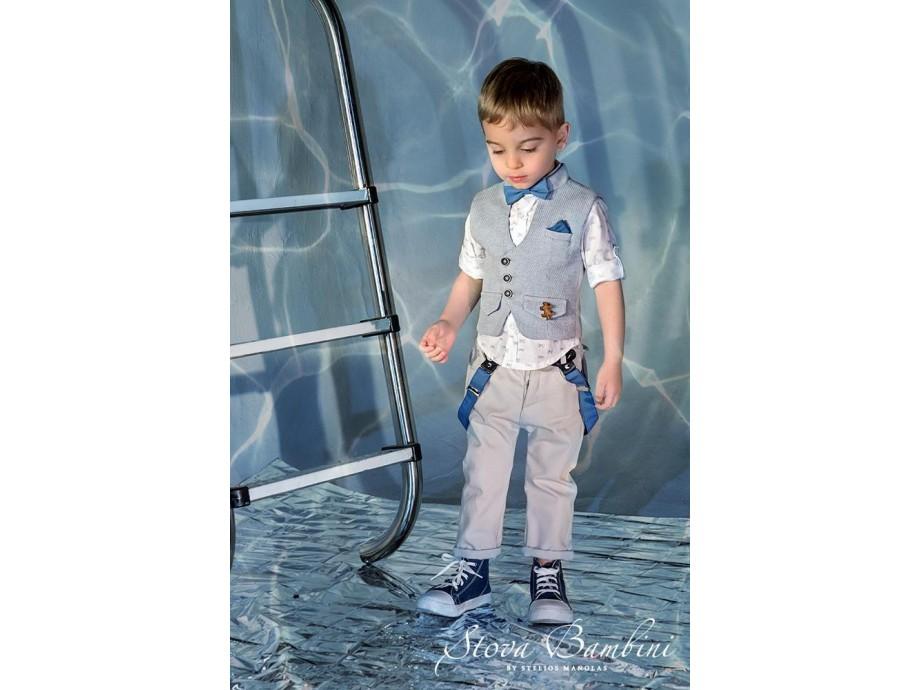 Βαπτιστικό κοστούμι Stova Bambini ss21β9