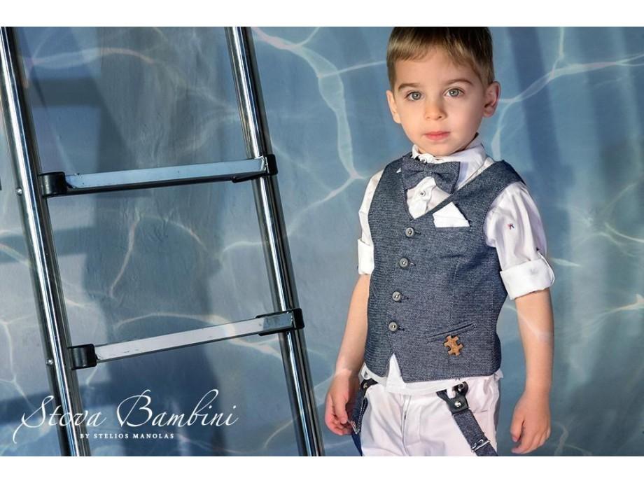 Βαπτιστικό κοστούμι Stova Bambini ss21  Β18