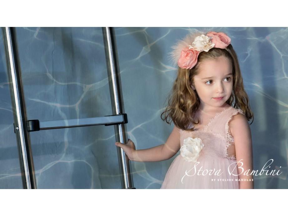Βαπτιστικό φόρεμα Stova Bambini SS21G13 pink