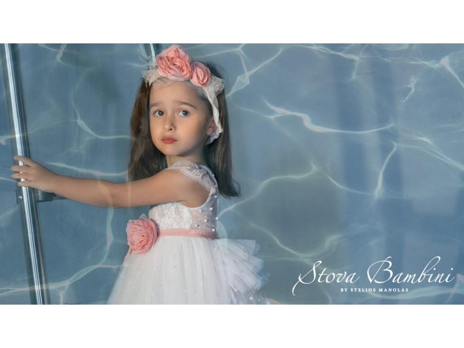 Βαπτιστικό φόρεμα Stova Bambini SS21G21
