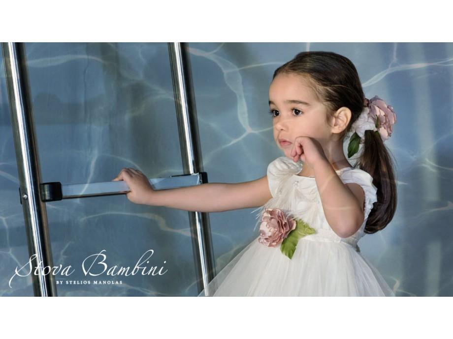 Βαπτιστικό φόρεμα Stova Bambini SS21G19